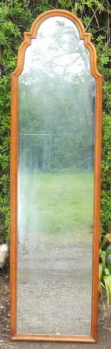Walnut Framed Easel Dressing Mirror